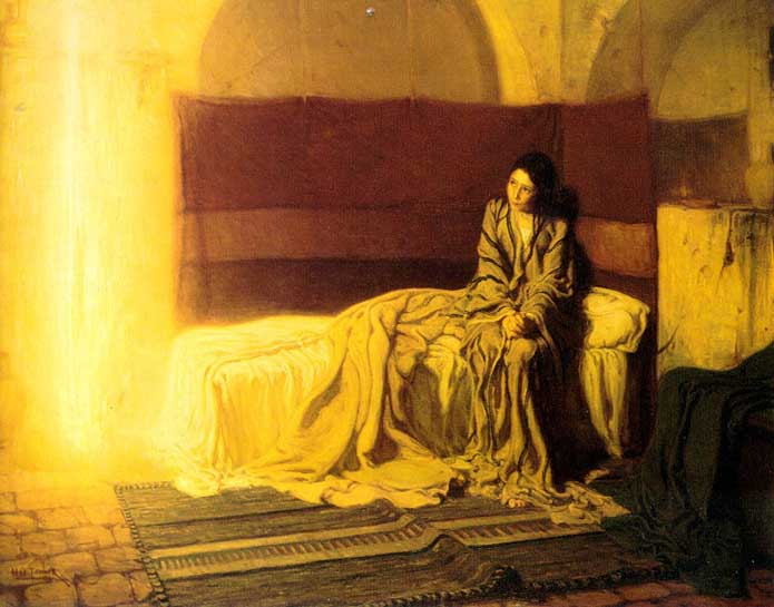 the anunciation, by Henry Turner
