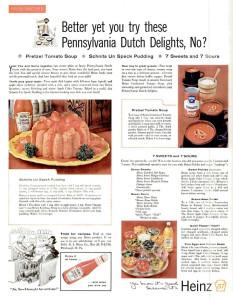Heinz ad, 1958