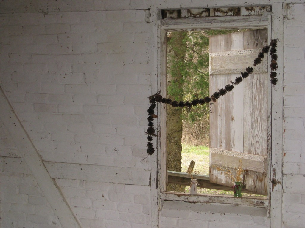 interior window, slave quarters