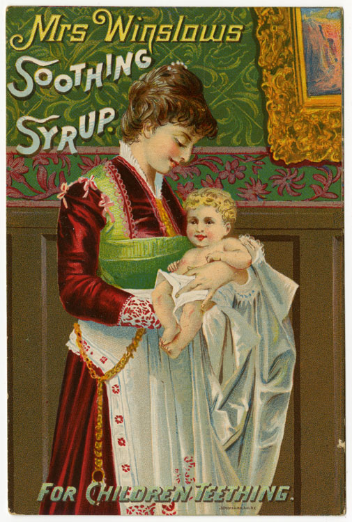 ad for Winslow's soothing syrup