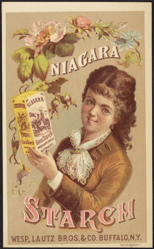 advertisement for Niagara Corn Starch